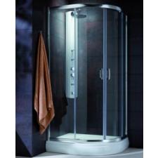 Radaway Premium Plus E1900 aszimmetrikus zuhanykabin 90x80 kád, zuhanykabin