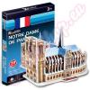 CubicFun Notre-Dame 3D puzze 39db - CubicFun