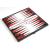 Gémklub Összehajtható mágneses backgammon, műanyag, 20x20x1cm