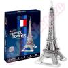CubicFun Eiffel-torony ezüst 3D puzzle