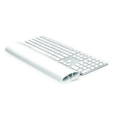 FELLOWES Csuklótámasz billentyűzethez, szilikonos, FELLOWES I-Spire Series™, fehér asztali számítógép kellék