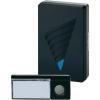 Heidemann Vezeték nélküli ajtócsengő max.150m 433MHz ezüst-fekete színben Heidemann 70820