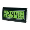 Digitális panelműszer, panelméter zöld háttérvilágítással 200mV 22,2x45mm TDE DPM961-TG