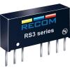 Recom International 3 W-os DC/DC átalakító, be: 9 - 18 V/DC, ki: 3,3 V/DC, 600 mA, 3 W, Recom International RS3-123.3S