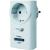 Home Easy Vezeték nélküli konnektorba dugható vevő dimmerrel 433 MHz max. 200 W, ELRO Home Easy HE878