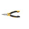 Wiha ESD laposfogó félgömbölyű csőrrel, egyenes, 145 mm, Wiha Professional 27905