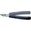 ESD Electronic Super Knips, INOX rozsdamentes acél fej, lágy/közepes huzal max.: Ø 1,6/1 mm, Knipex 78 13 125 ESD