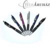 Fémes hatású mintás toll