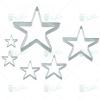 Perfect home Sütikiszúró szett csillag 6db