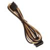 Bitfénix Bitfenix Molex SATA adapter 45 cm - arany / fekete