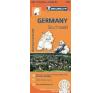 GERMANY SOUTHWEST - NÉMETORSZÁG DÉL-NYUGAT TÉRKÉP 2013 (545) térkép