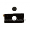 HTC Diamond billentyűzet fekete utángyártott*