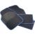 Eufab Autós szőnyeg készlet fekete/kék