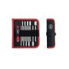Wiha Cserélhető szárú dugókulcs készlet tokban, 12 részes készlet Wiha SYSTEM 6 27713