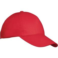 Baseball sapka, állítható, piros
