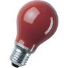 Osram Speciális izzó fényfüzérekhez, E27, 11 W, piros, izzólámpa forma, Osram 4008321545824