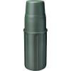 Isosteel Rozsdamentes termosz, 1 l, oliva színű, Isosteel X-Line
