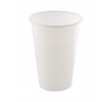 Műanyag pohár, 3 dl, fehér tányér és evőeszköz
