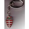 Címeres kettőskeresztes (25 mm) kulcstartó