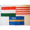 3 db kis zászló (15x25 cm) V.