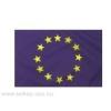 Európa zászló Hurkolt poliészter nyomott mintás kültéri zászló. 60x90 cm
