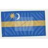 Székely zászló II 15x25 cm, 40 cm-es műanyag fehér pálcával