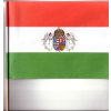 Papír zászló angyalos (21x14 cm)