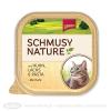 Schmusy Nature csirke és lazac - alutálca 100g