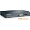 TP-Link TL-SG1008PE POE Switch 8xport,Fémház,8xGigabit