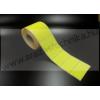 72×39 mm Vellum papír tekercses címke/ FLUO citrom színes