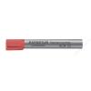 STAEDTLER Flipchart marker, kúpos, STAEDTLER Lumocolor 356, piros (TS3562)