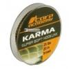 Carp Academy Karma Hooklink 20m 25lb - Brown