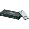 Goobay HDMI elosztó, 5 portos, 3 be/1 ki, távirányítóval, goobay