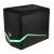 Bitfénix BitFenix Colossus M Mini-ITX RED/BLUE/GREEN LED - fekete