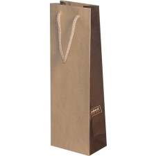 . Ajándéktasak, italos, 12,3x36,2x7,8 cm, öko ajándéktasak
