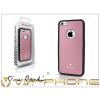 Pierre Cardin Apple iPhone 5C alumínium hátlap - pink