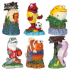 Trixie Akvárium dekor kerámia színes tengeri állatok 7cm