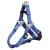 Trixie Hám prémium m kék 50–65cm/20mm