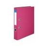 VICTORIA Iratrendező, 50 mm, A4, PP/karton, VICTORIA, rózsaszín