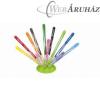 Filctoll készlet, 2,8 mm, elhagyhatatlan kupakos, MAPED Color`Peps Jungle, 12 különböző szín