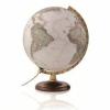 JAM AUDIO NatGeo antik politikai, 30 cm átmérőjű, fatalpas, világító földgömb
