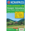 WK 880 - Kinzigtal - Schramberg turistatérkép - KOMPASS