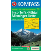 WK 35 - Imst - Telfs - Kühtai turistatérkép - KOMPASS