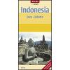 Indonézia: Jáva és Jakarta térkép - Nelles