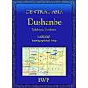 Dushanbe regionális térkép - EWP