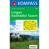 WK 67 - Lungau - Radstädter Tauern turistatérkép - KOMPASS