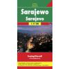 Szarajevó várostérkép - f&b PL 79