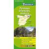 Pireneusok (kelet) - Andorra térkép - Michelin 146