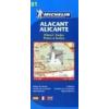 Alicante térkép - Michelin 9081