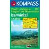 WK 182 - Isarwinkel turistatérkép - KOMPASS